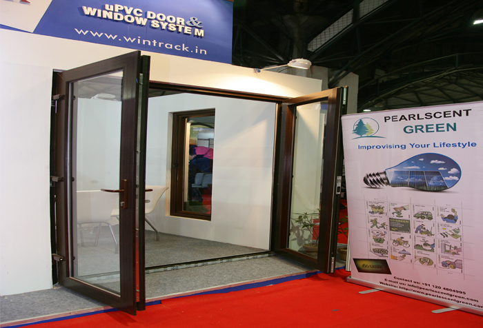 Wintrack improvising your life style for Upvc french doors india